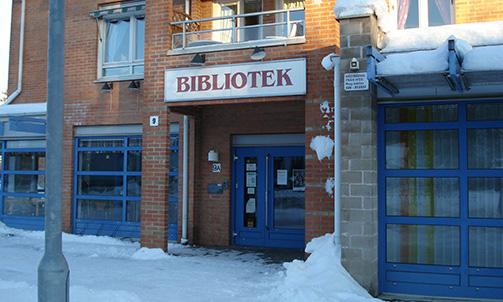 Entré Hestra Bibliotek